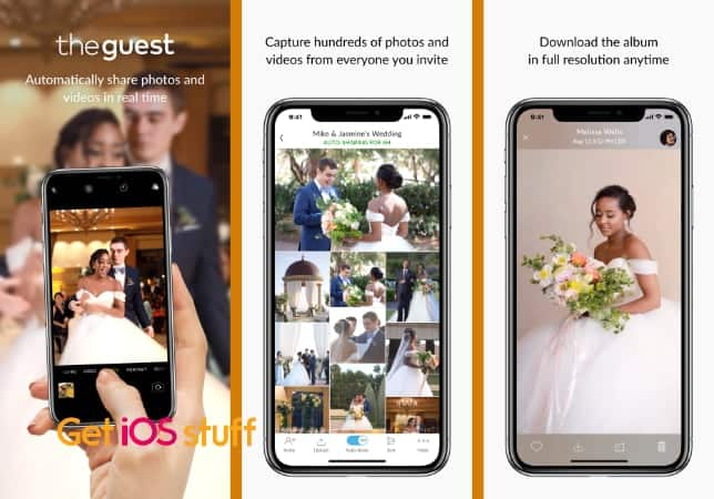 The Guest - Photo Sharing app for wedding