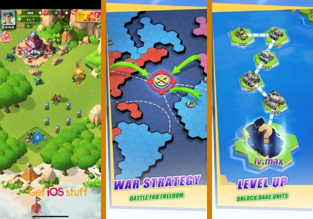 Top War strategy Battle Game for iPhone iPad