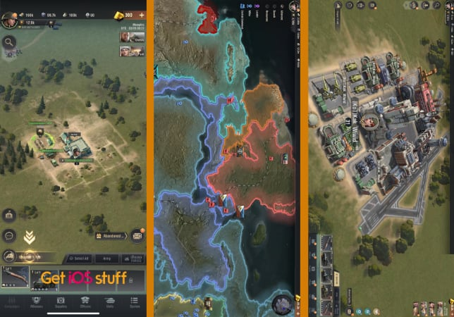 Warpath Real-time Strategy iphone game