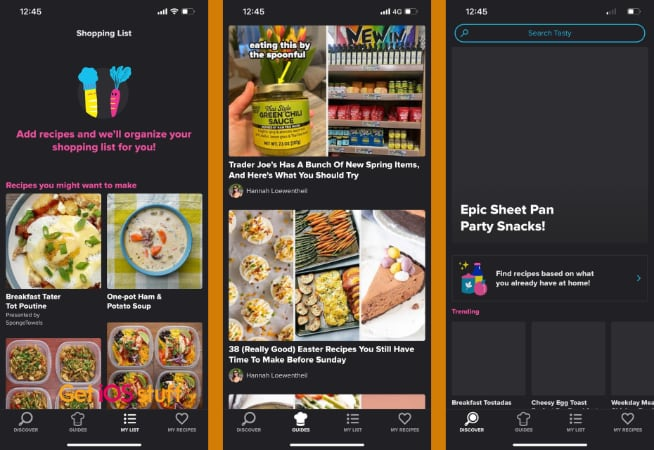 Tasty Food videos and recipes app for iphone ipad