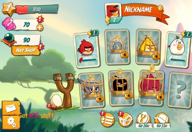 Angry Birds 2 iphone game