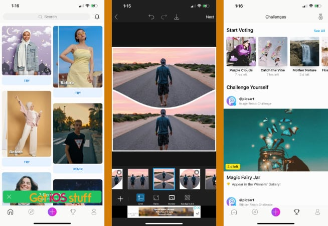 PicsArt Photo & Video Editor app for iphone and ipad