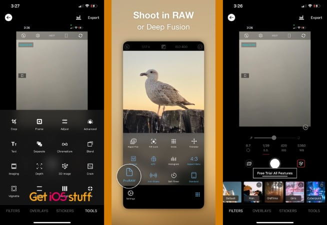 ProCamera HDR Raw Camera app for iphone